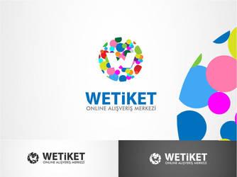 wetiket.net logo work 3 by HalitYesil