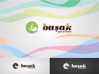 Basak Pazarlama Logo Type by HalitYesil