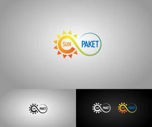 Sun Paket Solar Energy System Logo by HalitYesil