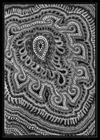 Paisleyish doodle by Suzabell