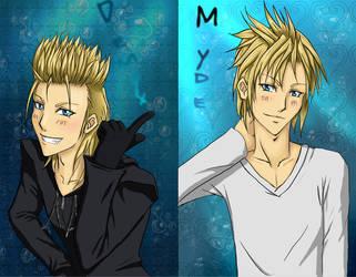 Demyx - Myde by Kaoru-Kina