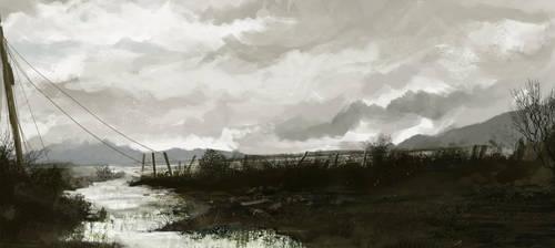 Wasteland by SamTheConceptArtist