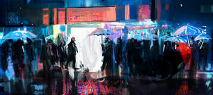 Blade Runner by SamTheConceptArtist