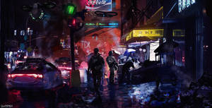 Urban Decay by SamTheConceptArtist