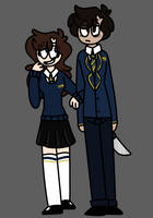 Isaac and Hailee //OCS by Tweekbr0s