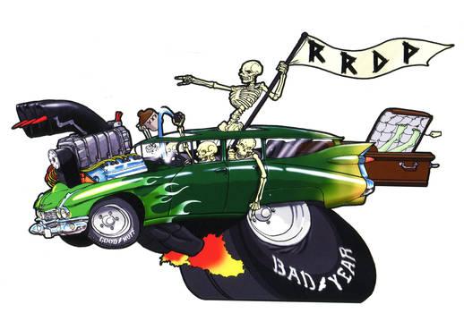 Rock n Roll Death Patrol by Gilgemesh