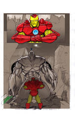 Ironman comic page 1 by Gilgemesh