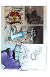 Ironman comic page 2 by Gilgemesh
