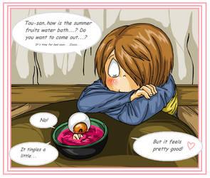 GnK: Summer Fruits Bath by RedPanda-chan