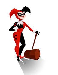 Harley Quinn by GenevieveFT