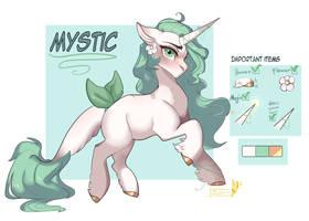 Mystic -[ OC ] - by Zakkurro