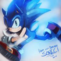 Happy Birthday Sonic! by ALacroixx
