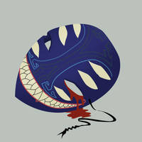 Fiendish Mask by maxwell-heza