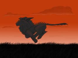 Red Run by maxwell-heza