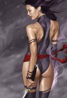 Femme Fatale - Psylocke by BrandonArseneault