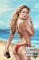 GTA V Poster by BrandonArseneault