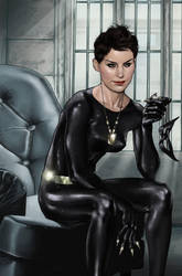 Catwoman by BrandonArseneault