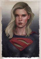 Supergirl by BrandonArseneault