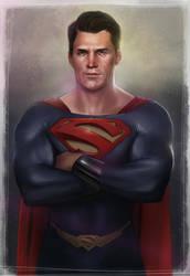 Superman by BrandonArseneault