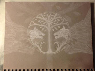 Destiny - Iron Banner Symbol (with back image) Fi by SPARTAN-WOLF