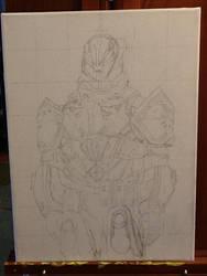 DESTINY - Lord Saladin : In Progress 1 by SPARTAN-WOLF