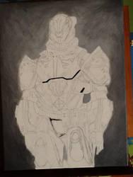 DESTINY - Lord Saladin : In Progress 2 by SPARTAN-WOLF
