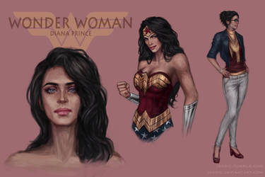 Wonder Woman (concept) by jasric