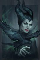 Maleficent by jasric