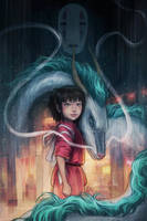 Spirited Away by jasric