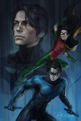 Nightwing by jasric