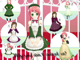 MMD Momo Momone Family DL  +NANAMI+ by Ayato-tan