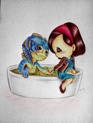The Shape Of Water - Elisa and the Asset by RAMI545