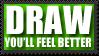 DRAW stamp by Peeka13