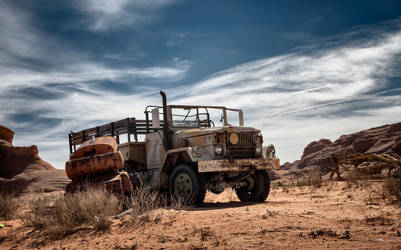 ghost vehicle LeTruck in Page, AZ by svoigt