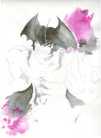Devilman 1 of 3 by Hu-ky
