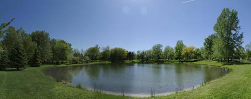 The Lake Panorama by Nattgew