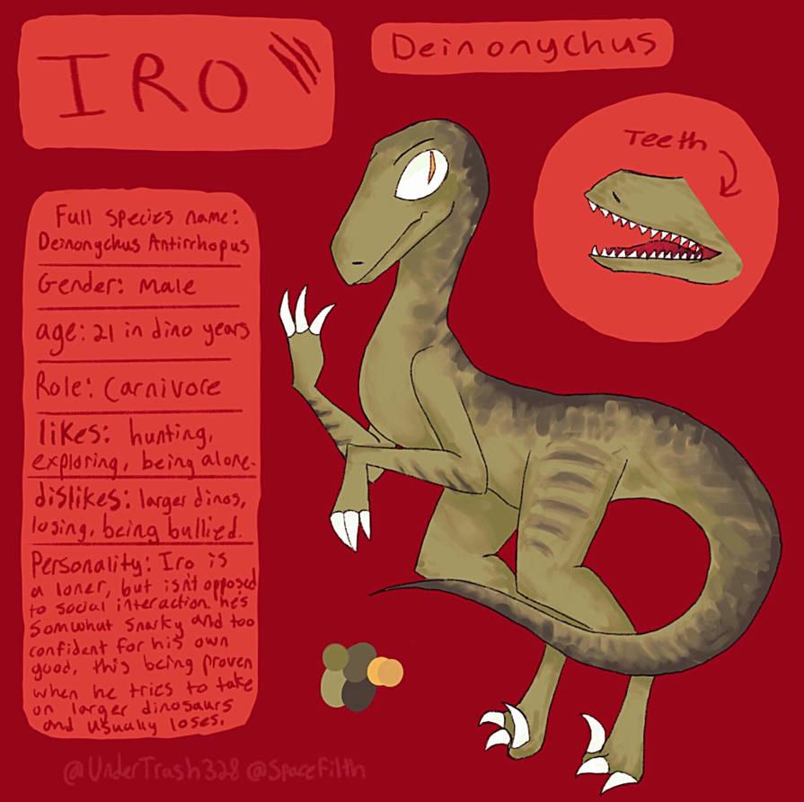 Deinosaur by UnderTrash328