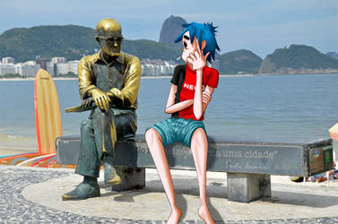 2D and Carlos Drummond de Andrade by maiinoue