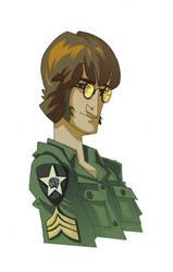 john lennon - army by joserobledo