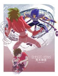 Shingo Araki tribute by joserobledo