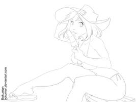Lineart Angela by bokuman