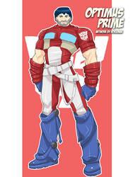 Optimus Prime by bokuman
