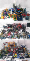 Transformers in my collection by bokuman