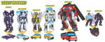 Transformers Detail by bokuman