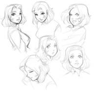 Angela 2014 - Sketching by bokuman