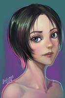 Practice coloring 20141124 by bokuman