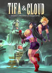 Cover comic Tifa y Cloud by bokuman