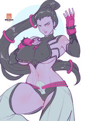 Widowmaker juri Sketch by bokuman