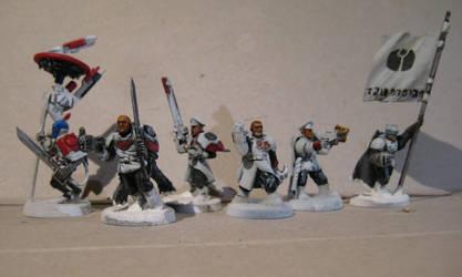 Gue'vesa Shas'ui / Company Command Squad by MoritzNina