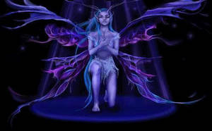 Dark Fairy by swimrusa